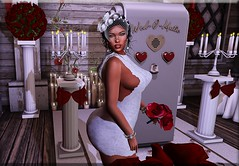 Fashion Advisory # 156 Let's Just Elope (Fashion Advisory) Tags: wedding elope due secondlife veil glitzz slfashion blog blogger blogging slmodel catwa maitreya