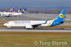 UR-PSE (bwi2muc) Tags: muc airport airplane aircraft airline plane flying aviation spotting spotter boeing 737 ukraineinternational 737800 ukraineinternationalairlines urpse munichinternationalairport munichairport franzjosefstrauss