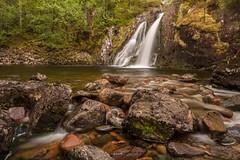River Coe Waterfall (Chris_Hoskins) Tags: rivercoe scottishlandscape wwwexpressionsofscotlandcom scottishlandscapephotography landscape waterfall scotland glencoe