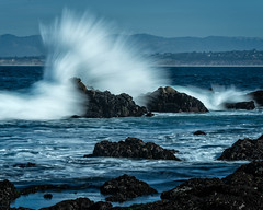 Surf at Pacific Grove (RPA-Home) Tags: slowshutter pacificgrove beach waves