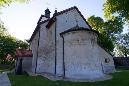 Kościół św. Mikołaja w Wysocicach od południowego wschodu