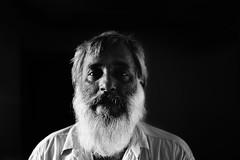 DSC00662 (hakimhasnul) Tags: bnw blackwhite potrait potraiture streepotrait a7r sonya7r zeiss fe55mm sonnar manwithbeard beardman beard