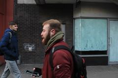 Dublin, Ireland (katelyn krulek) Tags: travel traveling travelling travels europetravel study abroad flickr exploring explore exploremore dublin ireland city building urban urbanexploring candid man store front
