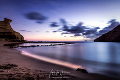 Mad about you (Miguel Angel Lillo Fotografía) Tags: longexposure largaexposición nocturna seascape playa beach sunset clouds cloudscape colors manfrotto nikon tamron d7200 aguilas murcia magicworld miguelangellillofotografia picoftheday