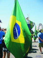 Bandeira (Janos Graber) Tags: bandeira brasil copacabana manifestação progresso