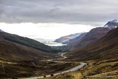 View of Loch Maree, Scotland (VeRoNiK@ GR) Tags: scotland uk highlands nature beautiful landscape canon canon500d roadtrip loch lake water mountains rock sky mountain bay sea maree