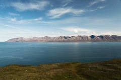 Blue-Grey-Blue-Green (desomnis) Tags: iceland island travel traveling landscapes landscapephotography nature sea fjord water northerniceland mountains sky clouds skyandclouds europe canon5dmarkiv canon5d tamron2470mmf28 tamron2470mm desomnis