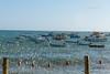 Barcos | Praia do Forte | Bahia | Brasil (Leandro Rinco) Tags: brazil brasil praiadoforte bahia beach praia mar ocean sol tartaruga projetotamar sun barcos