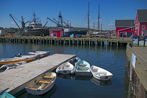 'The Cachalot' Fishing Boat -- Lunenburg Harbor (NS) September 2017
