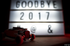 GoodBye 2017! And happy new year! (ADNeko) Tags: adneko nikon d800 sigma20mm 20mm prime lens f18 sigma 20 iso 100 car hotrod goodbye 2017 happy new year 2018 end greeting bonne année meilleurs voeux