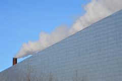 diagonal (brown_theo) Tags: ohio state university stack steam osu campus mccorkle aquatic center pavilion winter columbus
