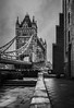 That Side Of The Bridge - Tower Bridge London by Simon & His Camera (Simon & His Camera) Tags: tower bridge building bw blackandwhite london city urban iconic architecture monochrome outdoor simonandhiscamera thames