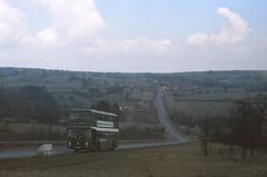 East Midland 193 Slack Hill (Guy Arab UF) Tags: east midland 193 aet193t 1979 bristol vrt ecw bus slack hill near kelstedge derbyshire nbc buses