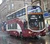Lothian 960 southbound in Morningside Road, Edinburgh (calderwoodroy) Tags: routebranding morningsidemaisie snow edinburghtransport transportforedinburgh lothianbuses sn11eap wrightbuseclipse volvo 960 doubledecker bus service5 morningsideroad morningside edinburgh scotland