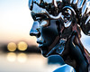 Boy With A Heart Of Gold (tainkeh) Tags: 2018 bokeh danmark nikon winter europa helsingør 85mm january sculpture 365 nikkor art harbour colour 365project denmark europe helsingor oplevhelsingor oplevhelsingør color lens project365