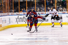 "Kansas City Mavericks vs. Kalamazoo Wings, January 5, 2018, Silverstein Eye Centers Arena, Independence, Missouri.  Photo: © John Howe / Howe Creative Photography, all rights reserved 2018. • <a style=""font-size:0.8em;"" href=""http://www.flickr.com/photos/134016632@N02/38681932905/"" target=""_blank"">View on Flickr</a>"