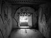 Bunker art... (Maria Godfrida) Tags: art graffiti interiorbw challengeonflickr 7dwf blackandwhite bw bunker blockhouse war relic shelter cof007biz cof007dmnq