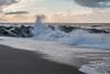 Windy afternoon (hanschristian_nielsen) Tags: ferring jylland jutland denmark beach wave sea sky sand water groyne seagull bird