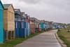 Beach huts, Tankerton (Aliy) Tags: beachhuts tankerton whitstable kent kentcoast seafront path perspective