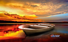 Carlos Atelier2 - Por do Sol (Carlos Atelier2) Tags: carlos atelier2 mar vermelho red barco lago ceu