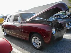 1949 Kaiser (splattergraphics) Tags: 1949 kaiser customcar carshow showbeforesnow townmallofwestminster westminstermd