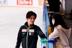 Shoma Uno, Mihoko Higuchi (asveri) Tags: figureskating isufigureskating skating practice gpfrance grandprix ifp2017 internationauxdefrance shomauno