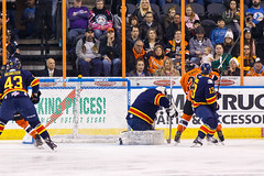 "Kansas City Mavericks vs. Colorado Eagles, December 16, 2017, Silverstein Eye Centers Arena, Independence, Missouri.  Photo: © John Howe / Howe Creative Photography, all rights reserved 2017. • <a style=""font-size:0.8em;"" href=""http://www.flickr.com/photos/134016632@N02/39106607032/"" target=""_blank"">View on Flickr</a>"