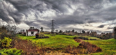 IMG_5084-91Ptzl1scTBbLGERM (ultravivid imaging) Tags: ultravividimaging ultra vivid imaging ultravivid colorful canon canon5dmk2 clouds scenic stormclouds sky landscape autumn panoramic autumncolors fall fields trees countryscene rural rainyday barn pennsylvania pa vista