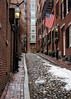 Beacon Hill (trochford) Tags: street cobblestone snow old narrow historic brick homes buildings city urban nationalregisterofhistoricplaces nationalhistoriclandmark acornstreet beaconhill boston bostonma bostonmassachusetts ma massachusetts newengland unitedstates us usa canon ef24105mmf4lisusm ef24105 outdoor exterior