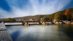 La Meuse - 4282 (YᗩSᗰIᘉᗴ HᗴᘉS +12 000 000 thx❀) Tags: meuse river water waterscape landscape hensyasmine yasminehens belgium belgique aa europa europe écluse