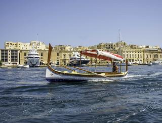 Valletta Malta Boat