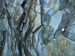 Blue (Maggie's Camera) Tags: blue rocks stone beach pembrokeshire abstract