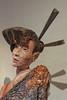 簪 (Viejito) Tags: sanluisobispo california slo broadstreet montereystreet higuerastreet usa unitedstates geotagged geo:lat=35279506 geo:lon=12066493 amerika amérique américa america canon powershot s100 canons100 museum sculpture museo musée collection art arte kunst japanese mokume head face redwood copper michaelhannon hannon sculptor wood torso bust shoulders bun hair sticks 簪 kanzashi