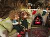 Christmas holidays in the elves' Land (Anne de Paris) Tags: fairyland fireplace fairylouse dollhouse popo pupu soso realpuki christmas christmastree 112ème maisondepoupée lutin f