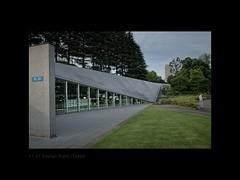 A sense of perspective (Antoine - Bkk) Tags: architecture building darktable design tokyo japan museum street perspective 2121 sight