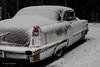 Caddy B&W............kind of ;) (lortopalt) Tags: abandoned övergiven car bil