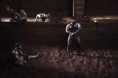 kushti wrestler (suryene) Tags: sport mumbai kolhapur kushti wrestler india lottatori canon6d report