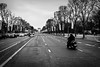 avenue des champs elysées... (Vladimir Barvinek) Tags: champselysées paris avenue road street arcdetriomphe traffic blackandwhite france