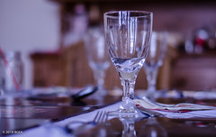 Getting Ready For Dinner! (BGDL) Tags: lightroomcc nikond7000 bgdl niftyfifty odc afsnikkor50mm118g diningroom diningroomtable cutlery wineglasses celebratethecommonplace