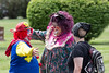 clowns (timp37) Tags: clowns forest park woodlawn cemetary august 2016 illinois showmens rest hugging