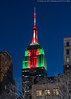 Christmas Colors (20180101-DSC06668) (Michael.Lee.Pics.NYC) Tags: newyork esb empirestatebuilding christmas holiday colors night twilight bluehour architecture cityscape sony a7rm2 fe24105mmf4g