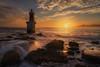 San Vicente (Iván F.) Tags: landscape landscapes water waterscape sea seascape explore explorer exploration sun sunrise cantabria spain travel tourism long exposure wave rocks sony a7r nisi