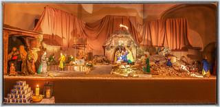 Weihnachtskrippe in der katholischen Pfarrkirche St. Joseph Leverkusen Manfort