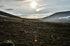Midnight sunlight (EllieRoseWard) Tags: valley midnightsun camping sky