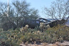 (ONE/MILLION) Tags: vacation travel tours exhibit museum events military civilian air aircraft airplanes planes guantanamo nasa flags decals paint weapons guns twa force marines army coast guard williestark onemillion tucson arizona stars stripes wings bone yard boneyard junk recycle parts metal