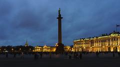 Palace Square, St Petersburg (khandozhkoa) Tags: stpetersburg north nighttime nightshot handheld noflash city cityscape citylife palace sky highiso hiiso sony sonyalpha alpha emount 24105g a7riii