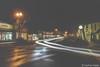 Laguna Beach - Village Fog (www.karltonhuberphotography.com) Tags: 2017 cartrails citystreets clock damp deserted earlymorning foggy headlights karltonhuber laguna lagunabeach leftturn motion nightphotography southerncalifornia streetlights streetphotography upearly urban village