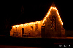 chapelle plouguin illuminé couleur (pamélaroué) Tags: chapelle plouguin illumination noel christmas