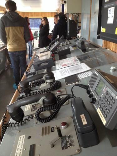 1960s communication tech on the bridge