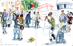 magendavidsquare-2 (marin71) Tags: art drawing sketch illustration urbansketchers reportage